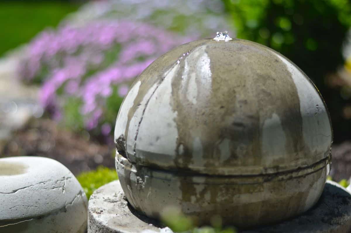 17 Amazing Homemade Garden Fountains