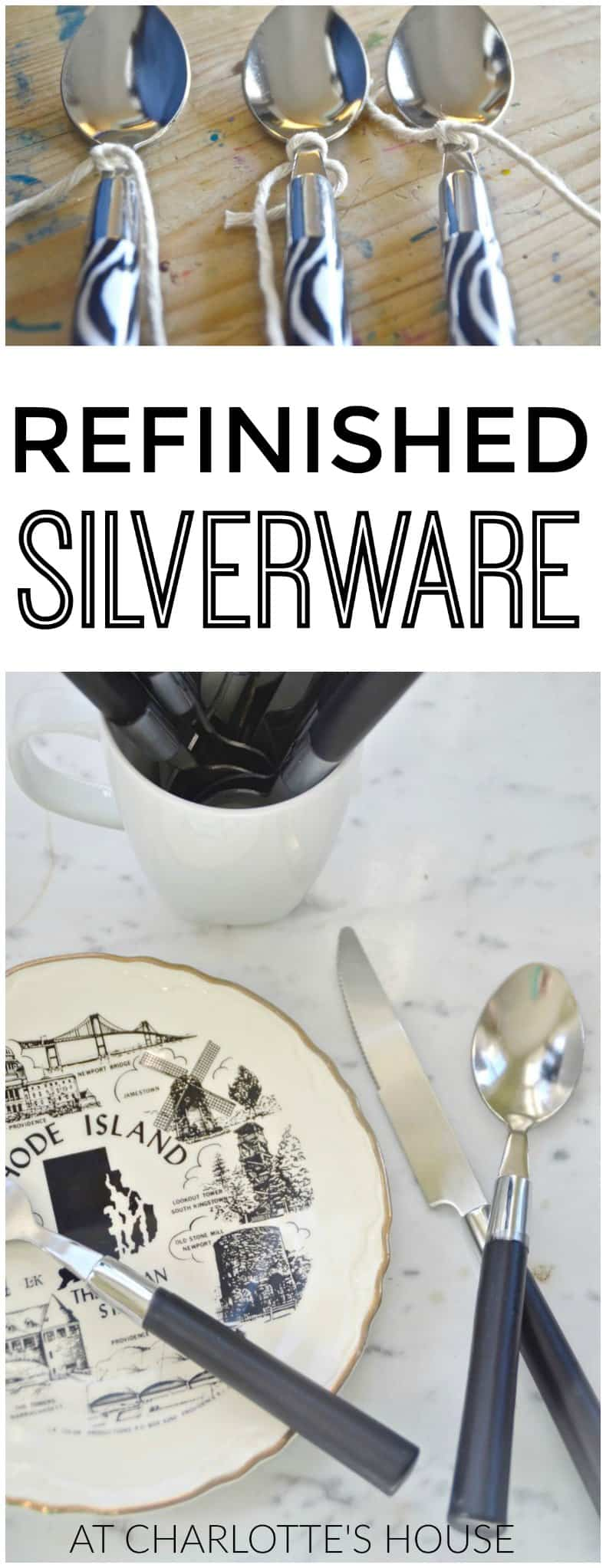 Refinish your silverware with one easy product!