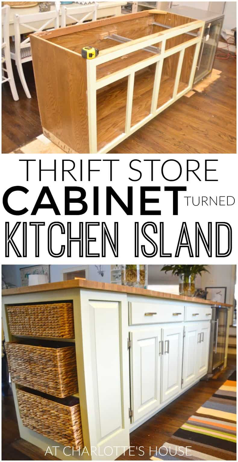New and improved kitchen island for Build kitchen island with cabinets