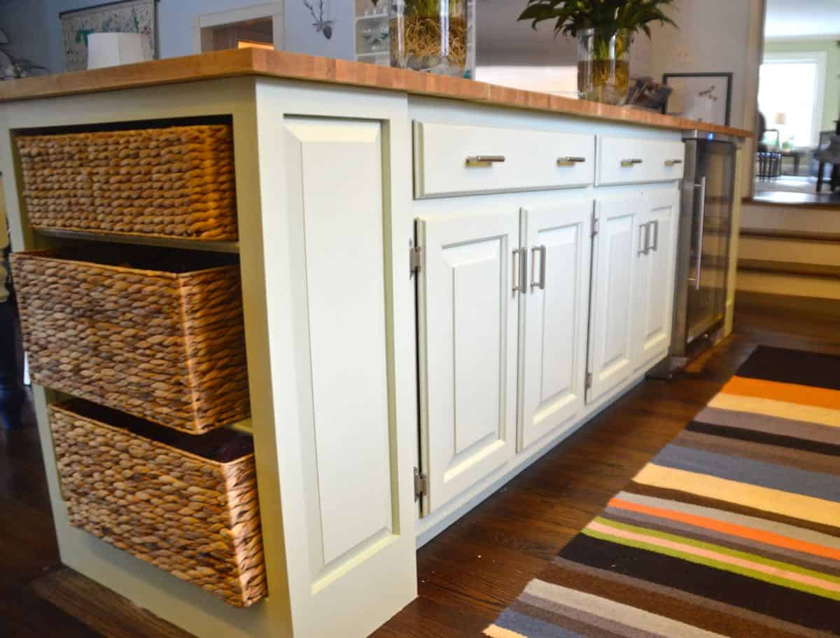 awesome painting a kitchen island