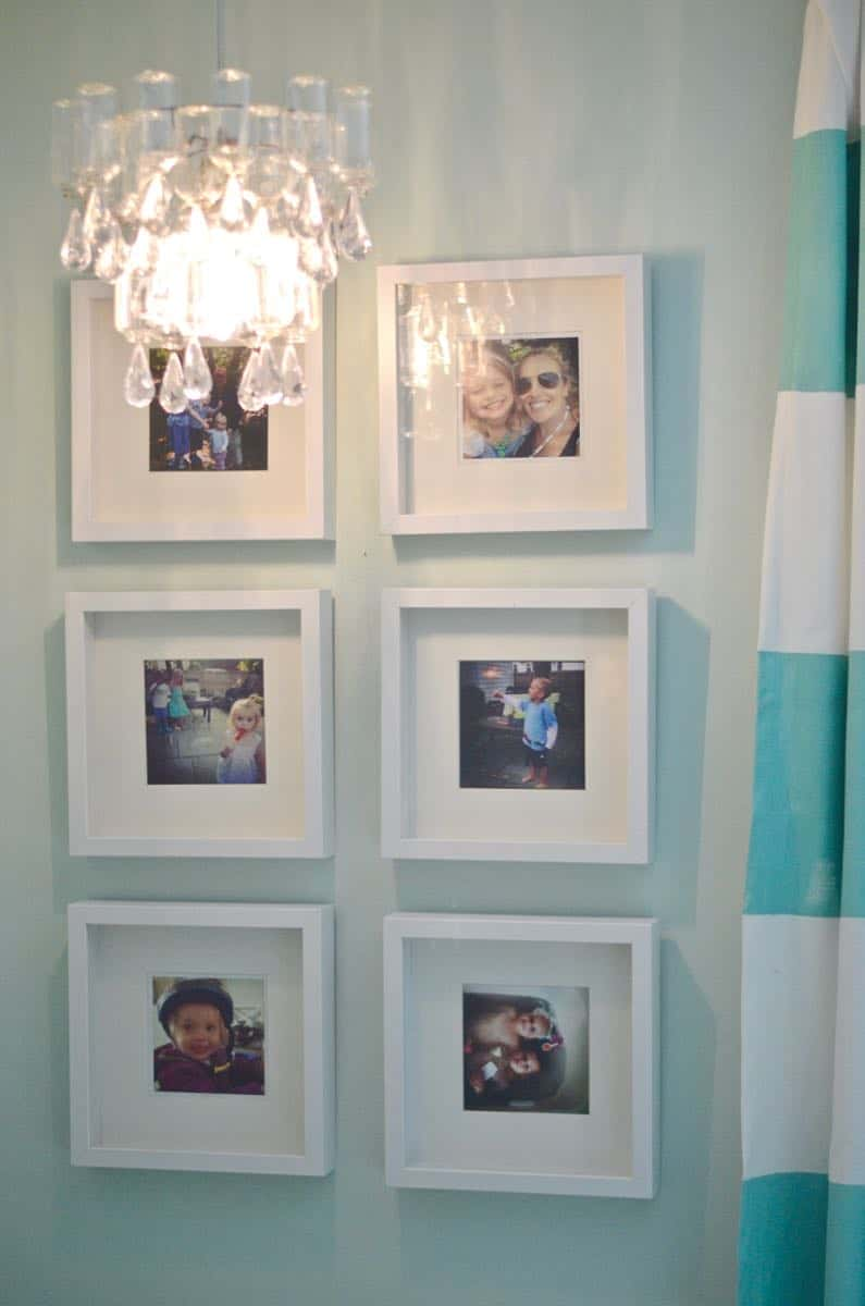 these plastic dollar store bottles were transformed into a fun and decorative chandelier - Dollar Store Frames