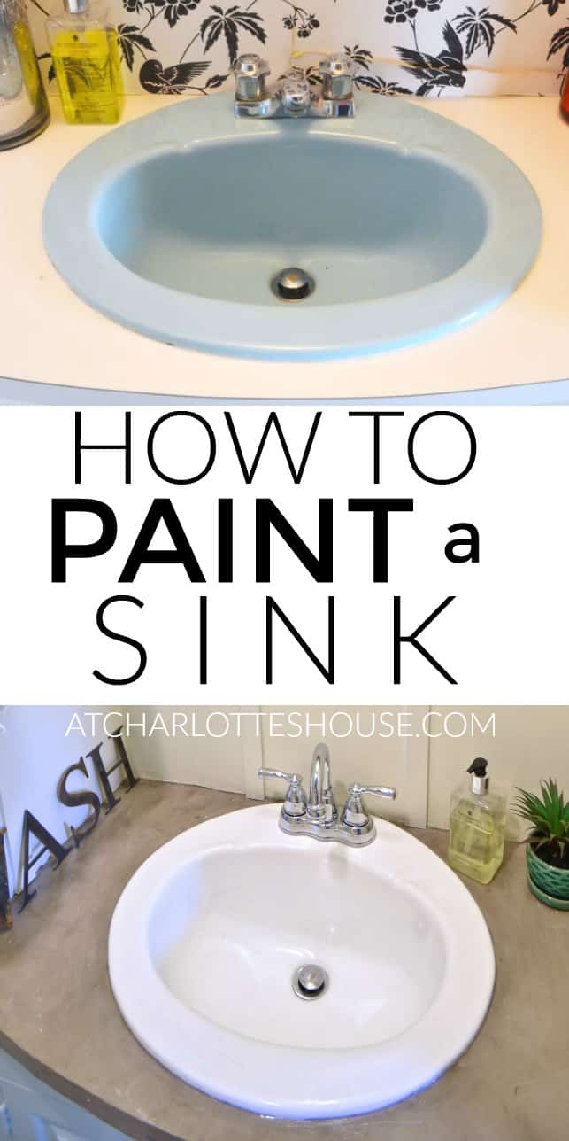Charmant Paint A Sink To Look New And Updated Without Spending A Dime On Plumbing.