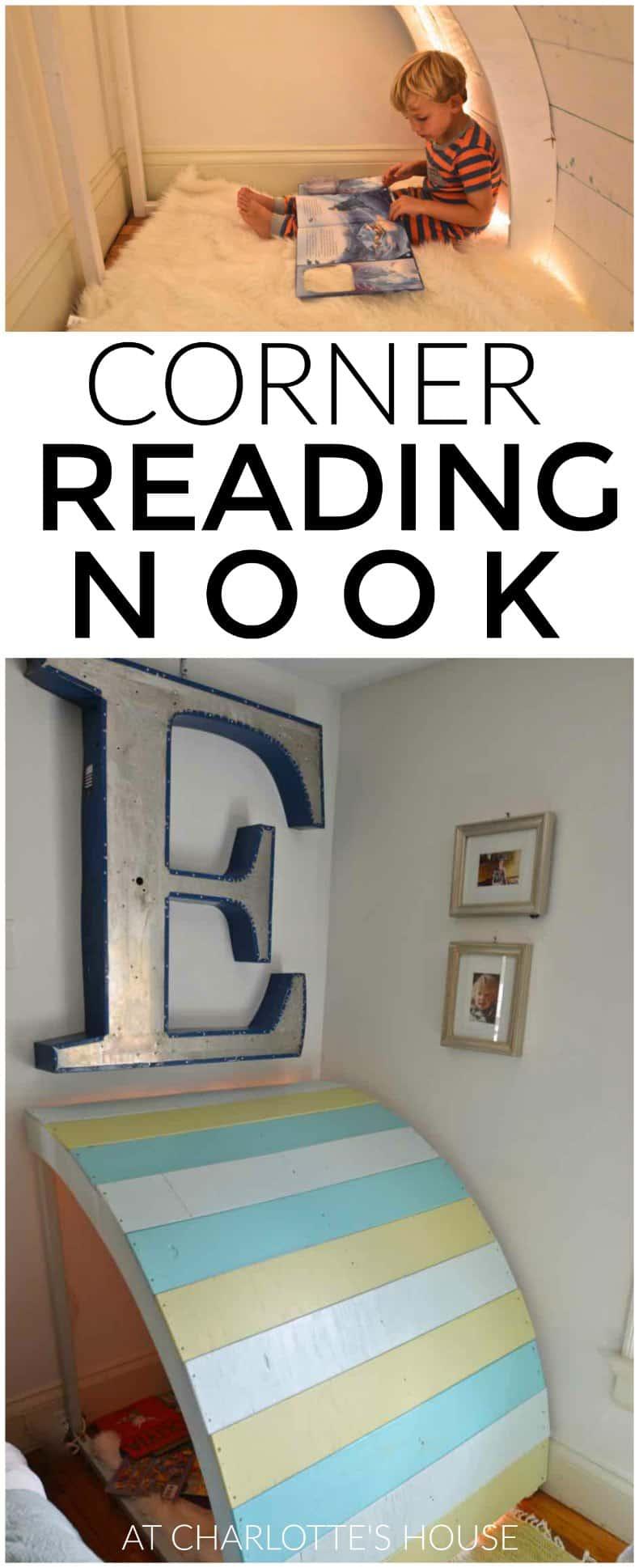 Plywood Kids Reading Nook