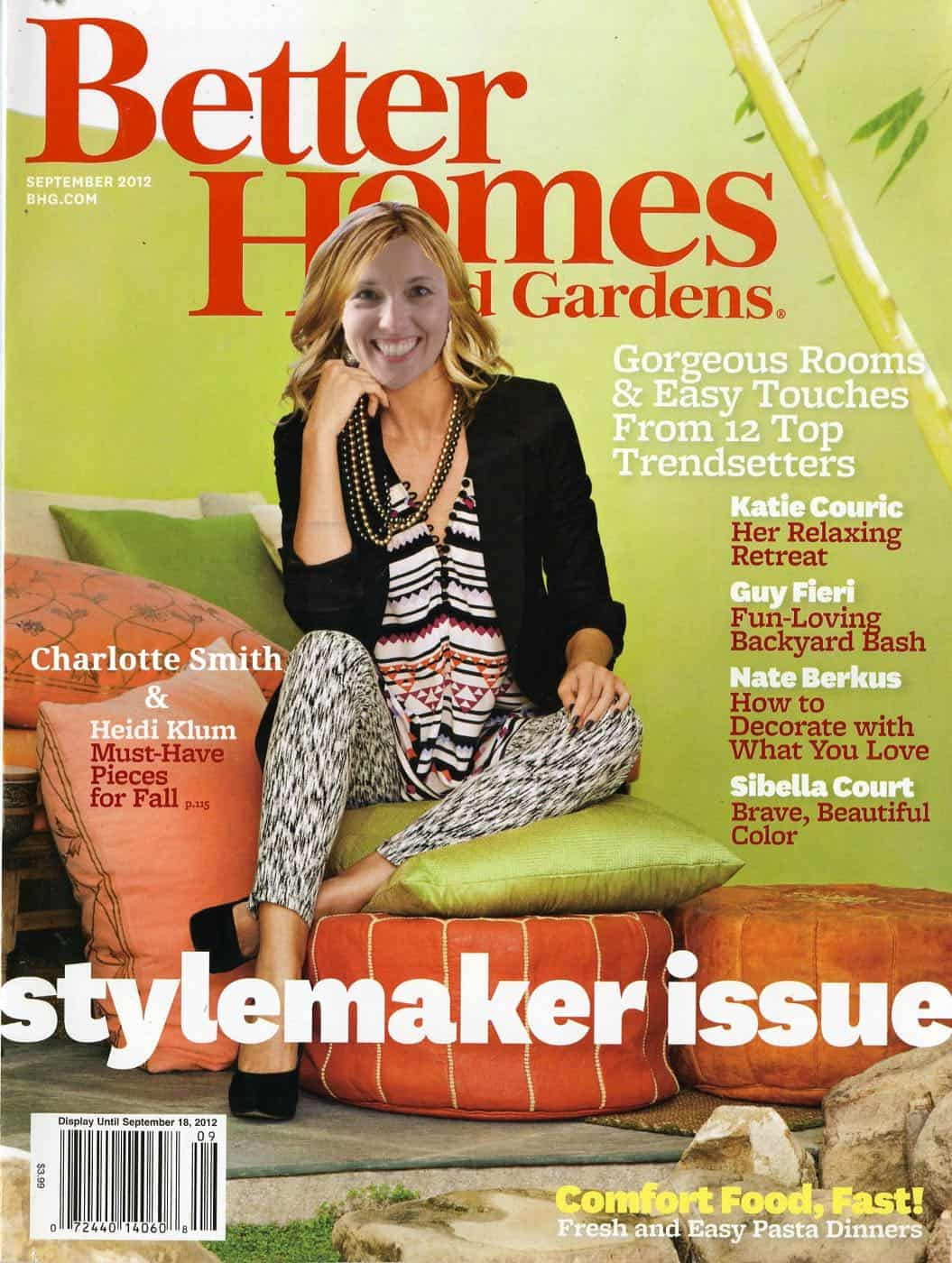 Sharing my day with Better Homes and Gardens for their I Did It feature in their magazine.
