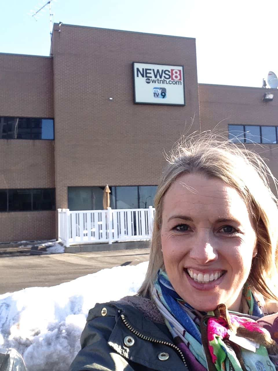 All the details of what it's like to be a guest on the local news