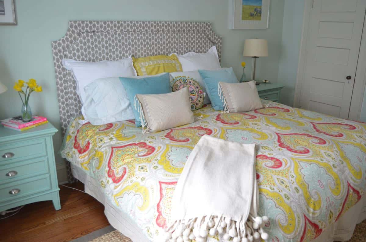 DIY Upholstered Belgrave Headboard