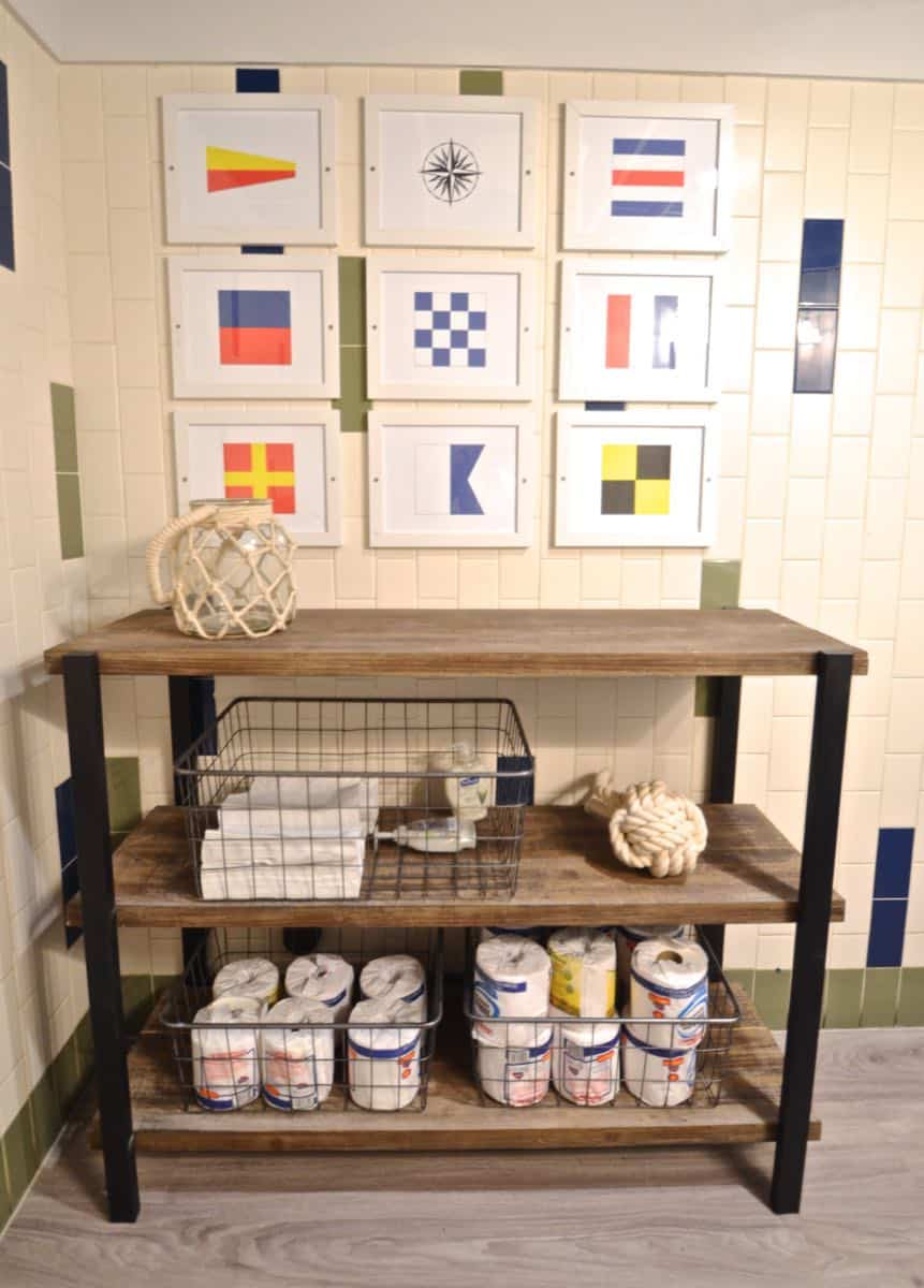 Neighborhood New England restaurant gets a nautical and chic makeover on a big time budget.