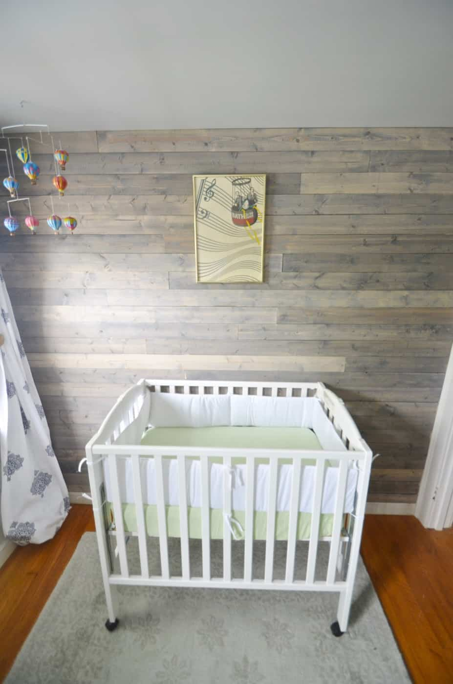 Designing a neutral nursery with pattern and texture.