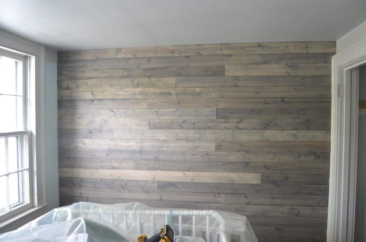 Small Bathrooms Decorating Ideas How To Fake A Reclaimed Wood Plank Wall