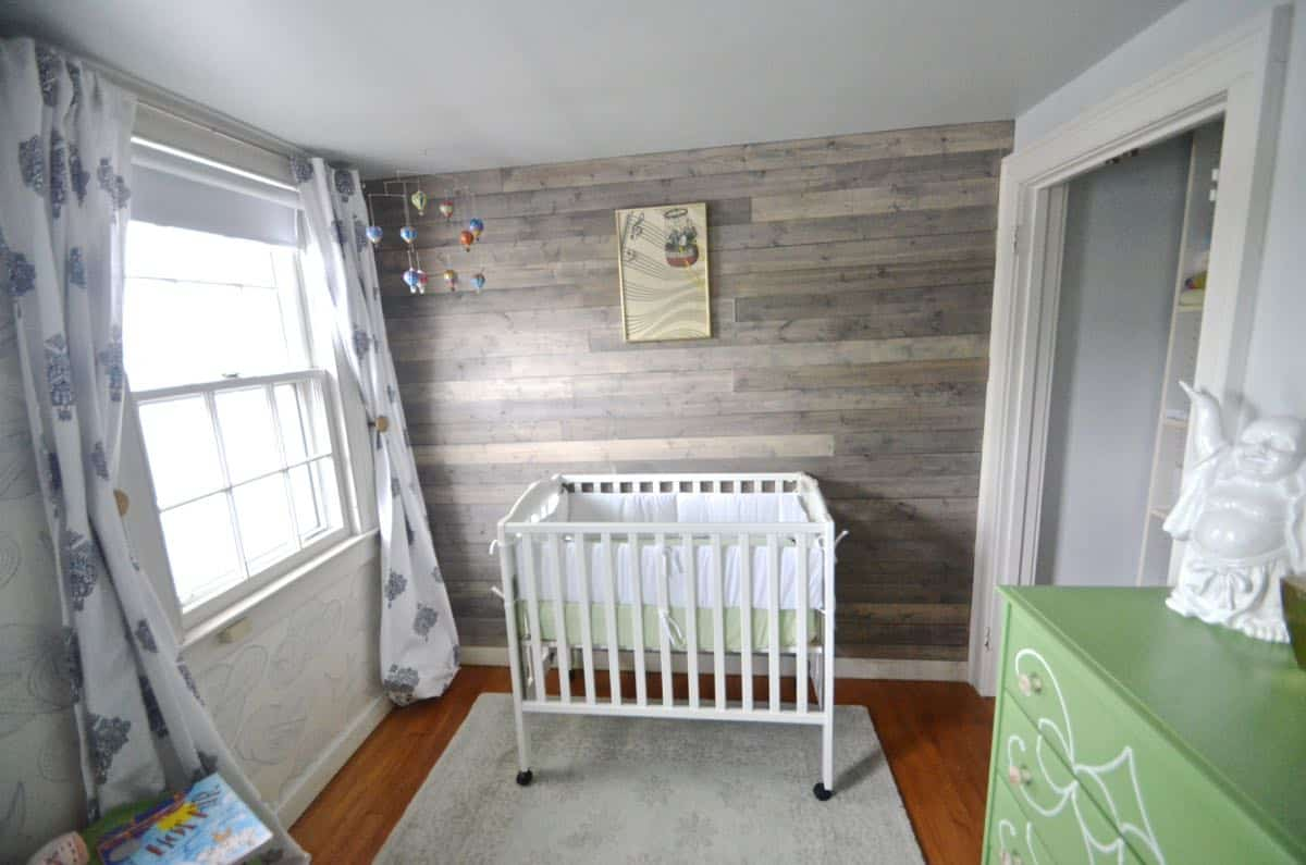 Ceiling Ideas For Bedroom How To Fake A Reclaimed Wood Plank Wall