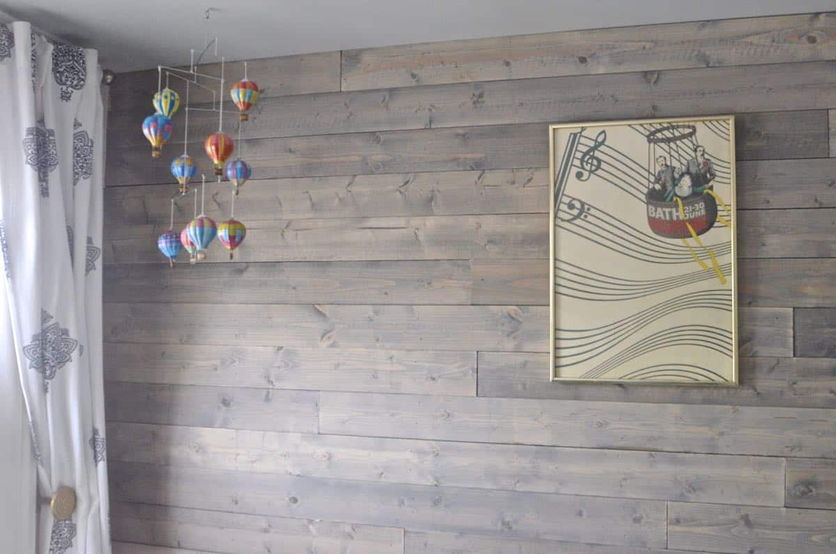 Design Wood Accent Wall how to fake a reclaimed wood plank wall