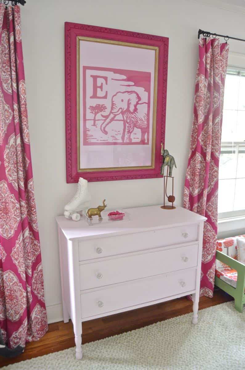 Bright and eclectic fuchsia girls bedroom. Fuchsia Girl s Bedroom