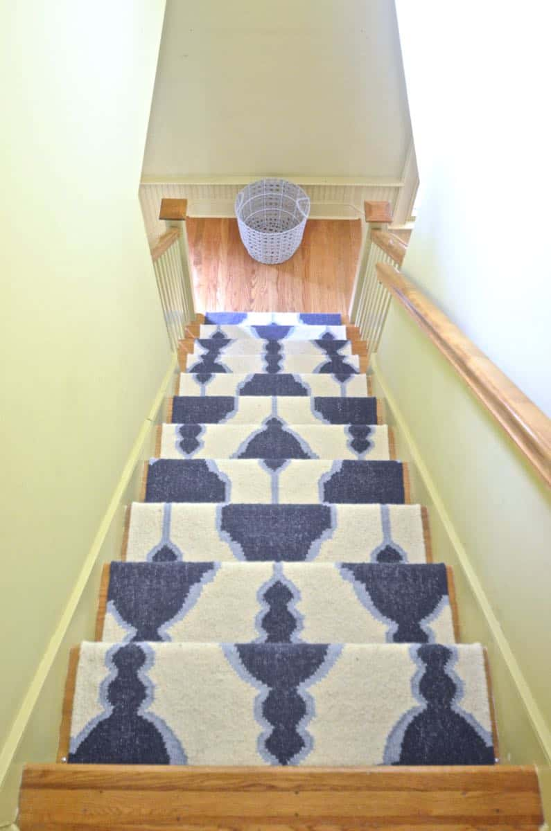 Budget DIY stair rods for under $20.
