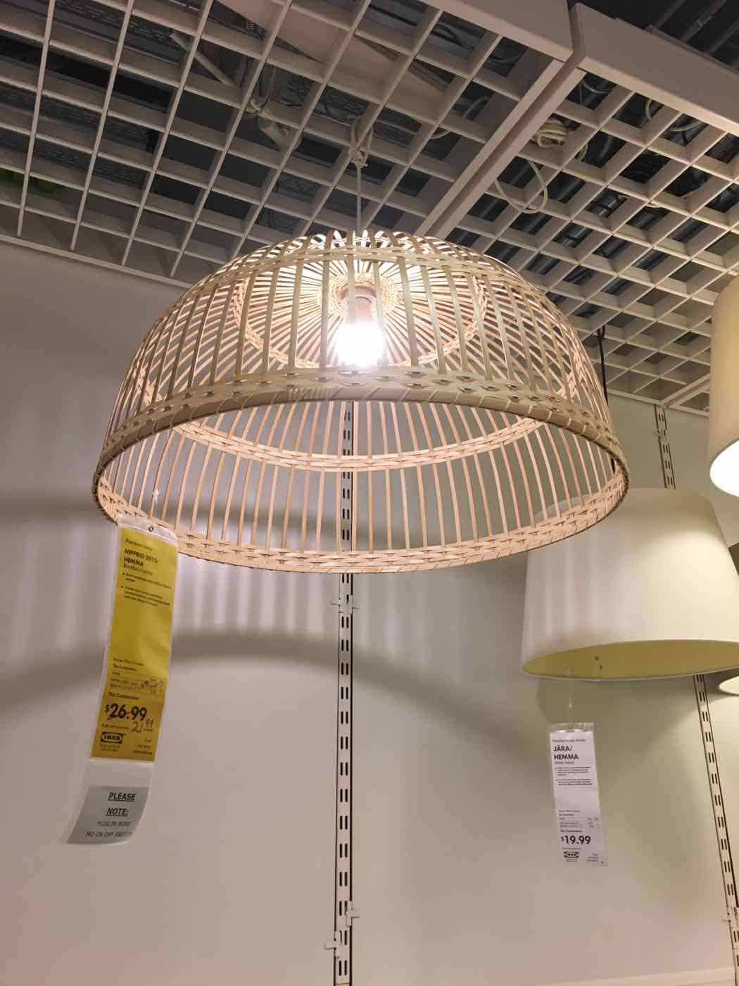 easy way to update a pendant light