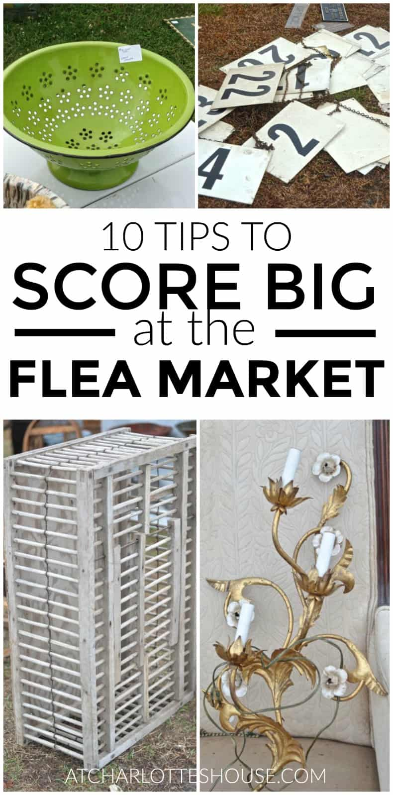 you won't want to miss these tips for scoring huge at the flea market