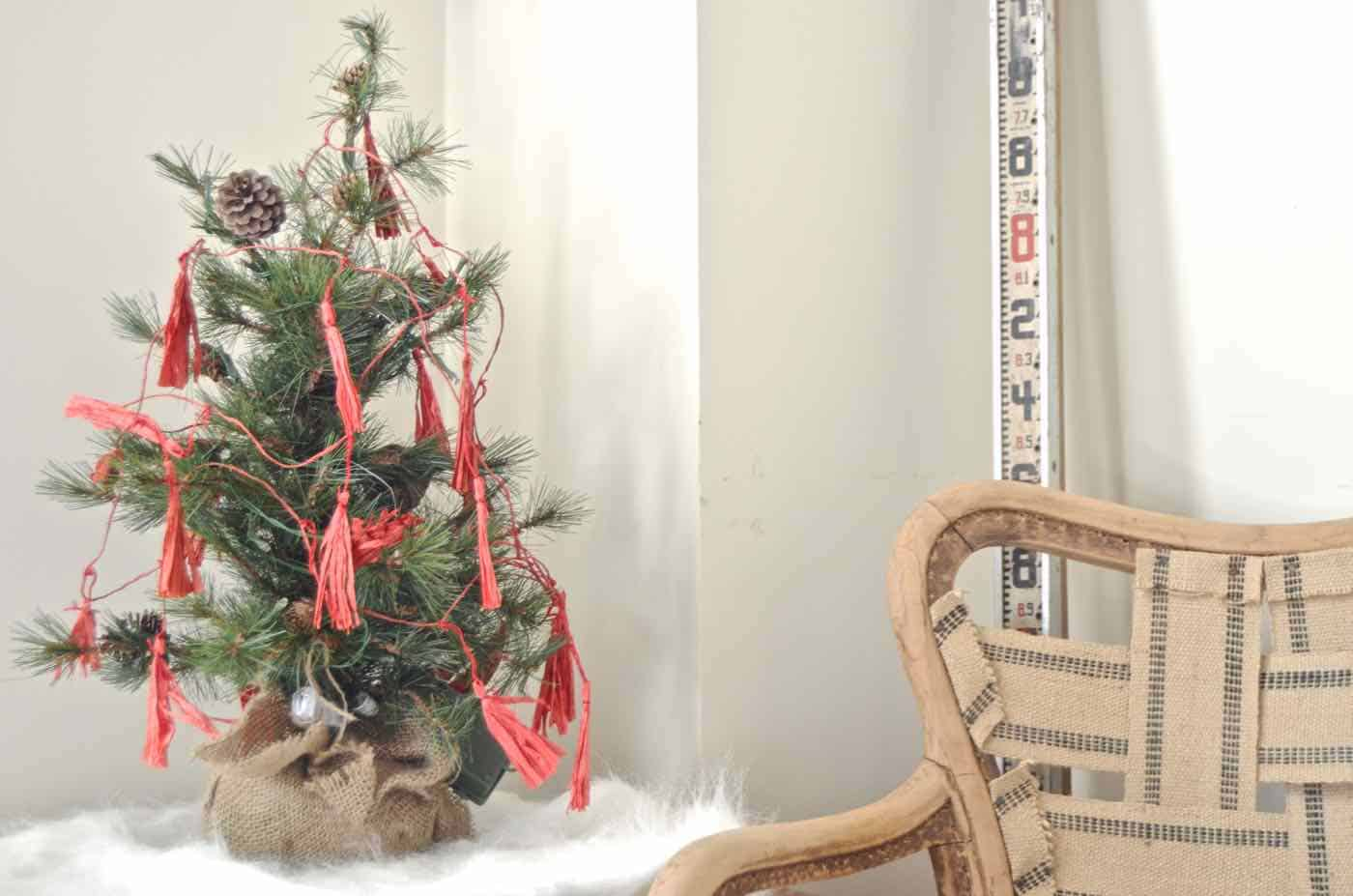 Holiday home tour... thrifted decor throughout our historic home.