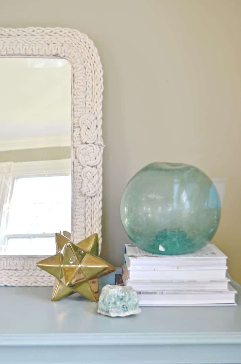 DIY Macrame mirror tutorial