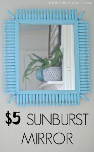 $5 Sunburst Mirror