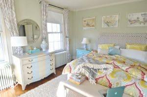 bedroom corner view