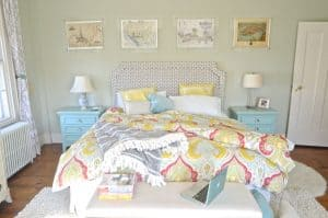 DIY Belgrave headboard, our master bedroom, and eleven other great bedroom spaces!