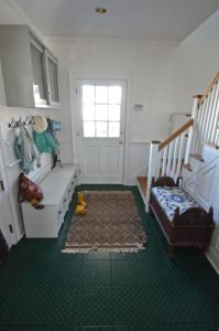 Mudroom after the makeover