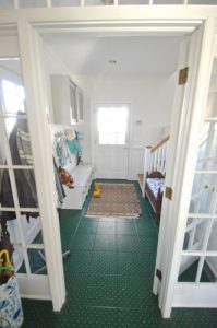Mudroom from the kitchen