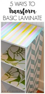 Ways to transform laminate furniture