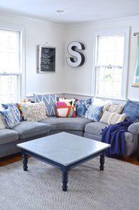 corner of family room