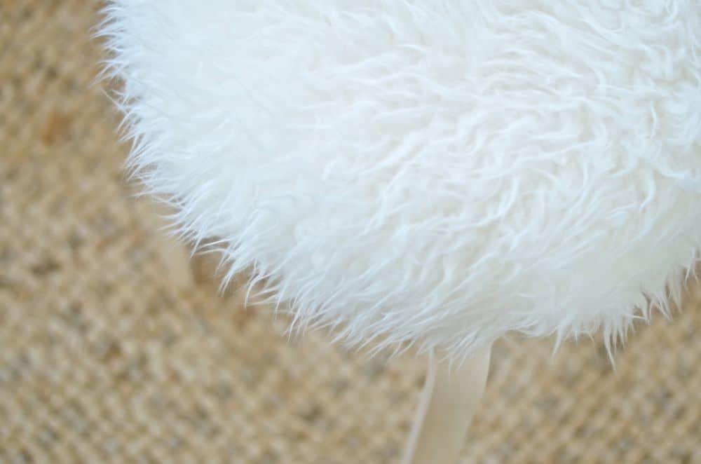 details of sheepskin