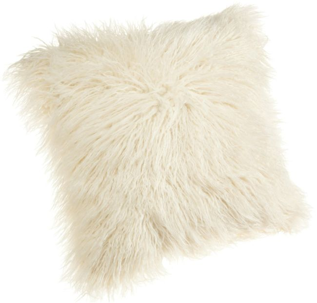 flokati pillow