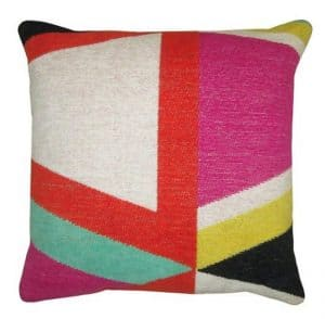 multicolor pillow