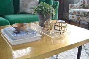 Brass Coffee Table excerpt