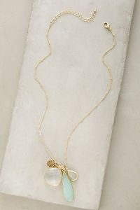 Charm necklace Anthropologie
