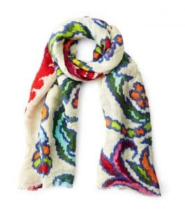 Colorful scarf UG