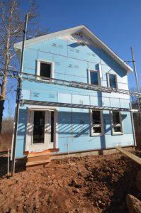Exterior Habitat house pre siding