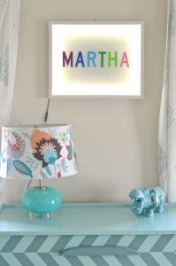 custom light up name sign