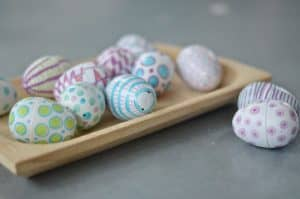 decorated easter eggs D