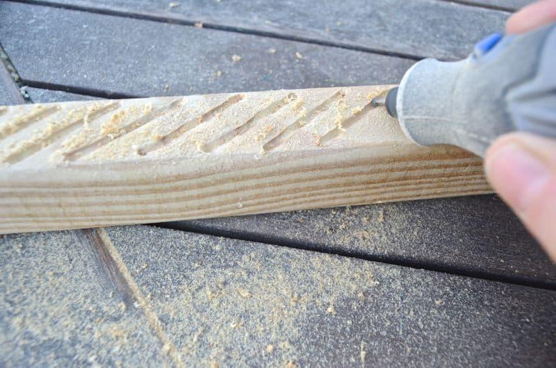 dremel etching doormat