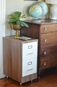 file cabinet after makeover