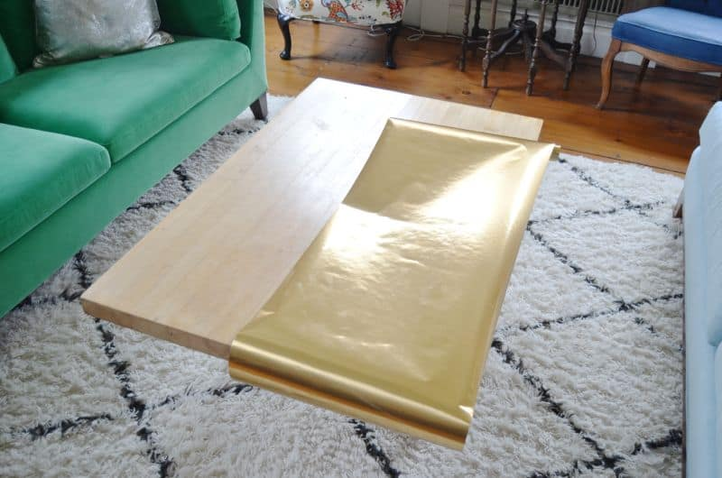 lay out brass paper