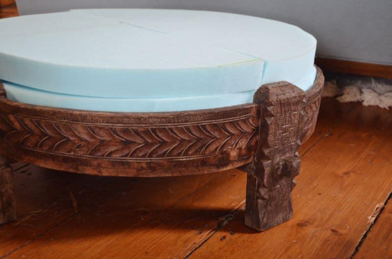 plain foam upholstery insert