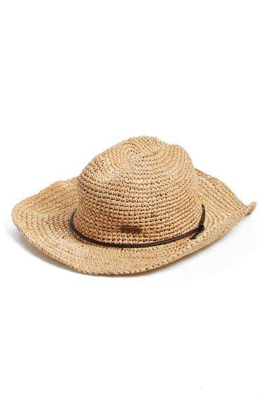 straw hat Nordstrom