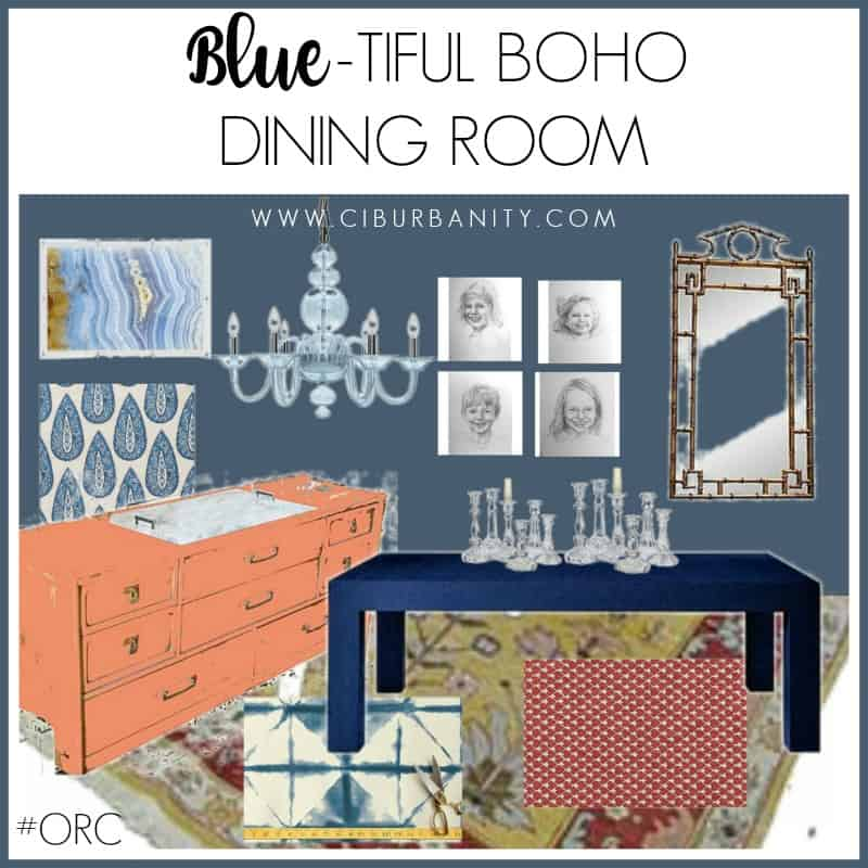 DINING ROOM Vision Board