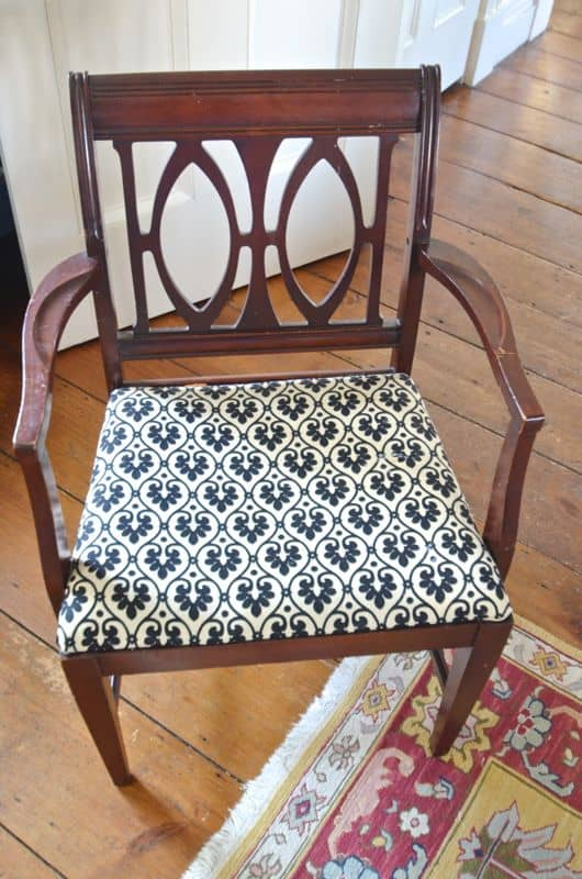 Dining Chairs before
