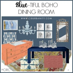 Dining Room Vision Board excerpt