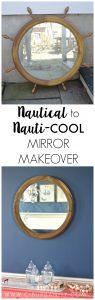 Nautical Mirror Makeover