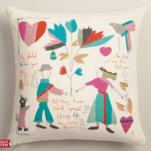 People outdoor pillow