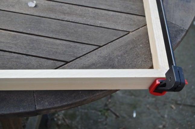 clamping swap frame