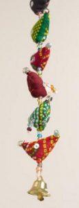 hanging bird garland