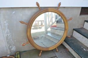 nautical flea market mirror